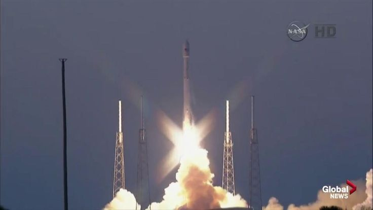 SpaceX launches deep-space observatory on 3rd try, nixes ocean landing - National | Globalnews.ca