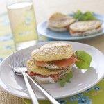 Ricetta Sandwich di frittata al salmone | Donna Moderna