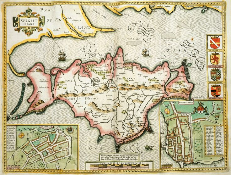 71 best Maps of the Isle of Wight images on Pinterest  Isle of