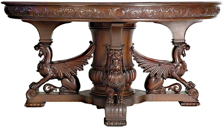 I'm very much starting to fall in love with unusual/Victorian antique furniture... this piece is so fantastical and opulent.