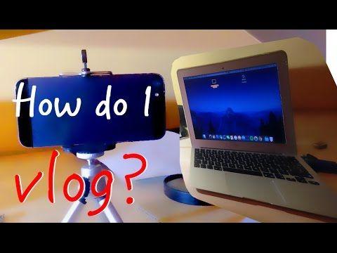 How do I vlog?