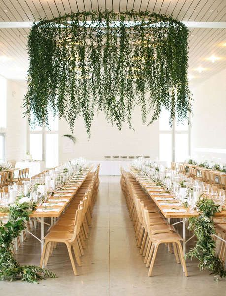 Inspirierende Blumen- und Blätterkränze als Dekoration Ihrer Hochzeitsfeier!