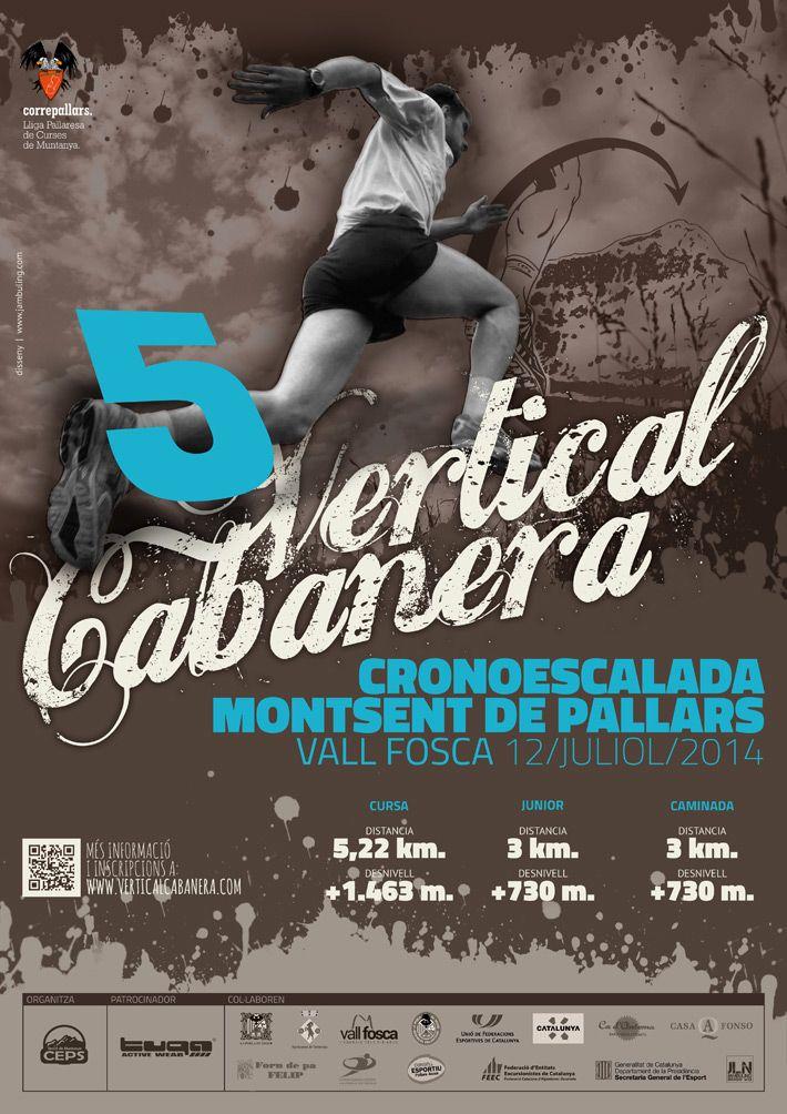 Poster de la cinquena edició de la Vertical Cabanera