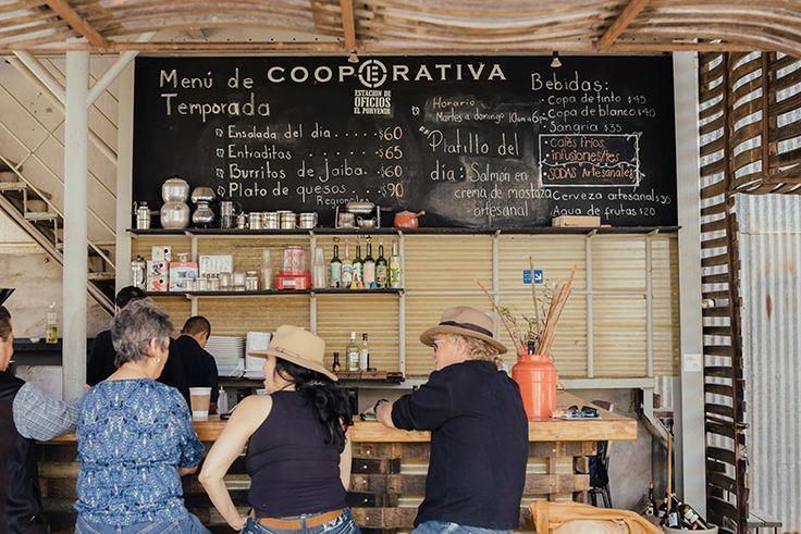 At La escuelita in Valle de guadalupe, Hugo D'Acosta to teach locals how to make their own wine. #SDMBaja