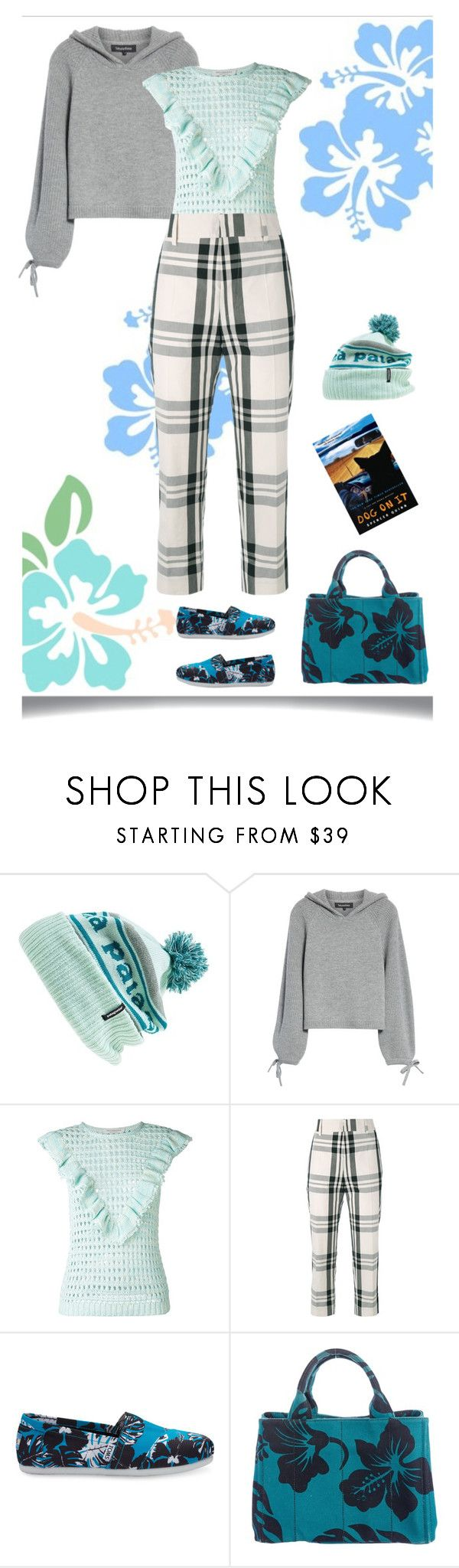 """Oh Chet"" by feileastram ❤ liked on Polyvore featuring Patagonia, Tabula Rasa, Philosophy di Lorenzo Serafini, Sofie D'hoore, TOMS and Prada"