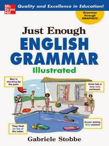 Free ebooks: Just Enough English Grammar Illustrated