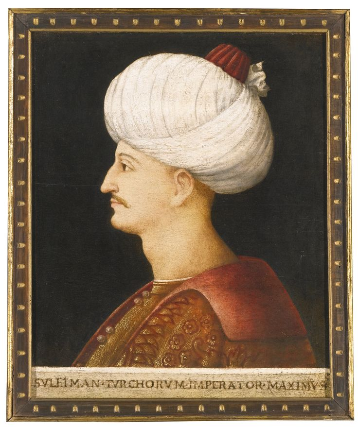 A portrait of Suleyman the Magnificent, by a follower of Gentile Bellini, Italy, probably Venice, circa 1520   Lot   Sotheby's