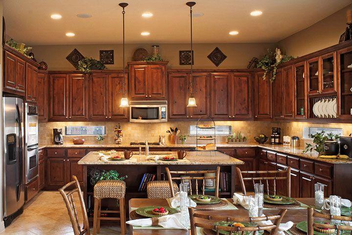Rustic knotty alder cabinets raised panel cabinet doors for Alder shaker kitchen cabinets