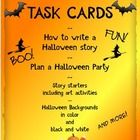 Halloween Task Cards and Writing Activities These Halloween task cards reinforce important ELA skills as you assess how well students organize thei...