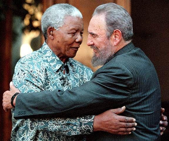 Image: Nelson Mandela and Fidel Castro @yogeshnvedd247