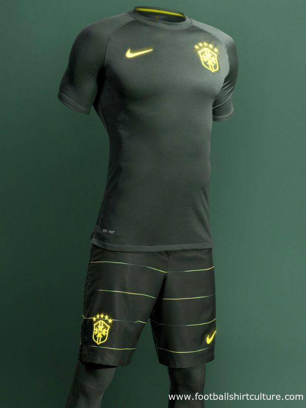 Brazil 2014 Nike Third Football Kit