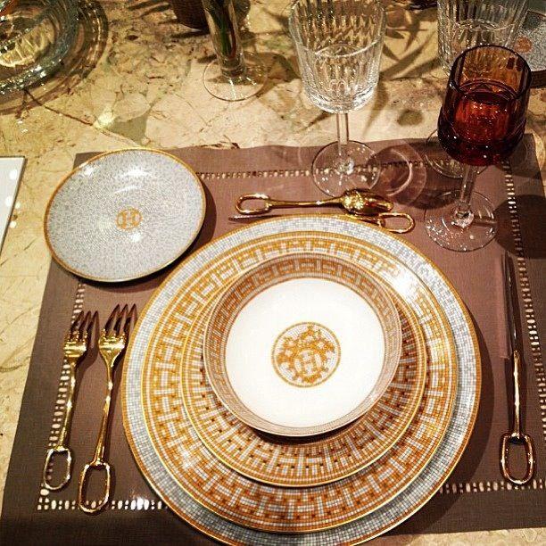 Hermes plates and utensils & 190 best Hermes Porcelain images on Pinterest | Porcelain ...