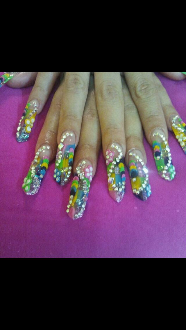The 16 best Victoria\'s Nails images on Pinterest   Avocado, Hair cut ...