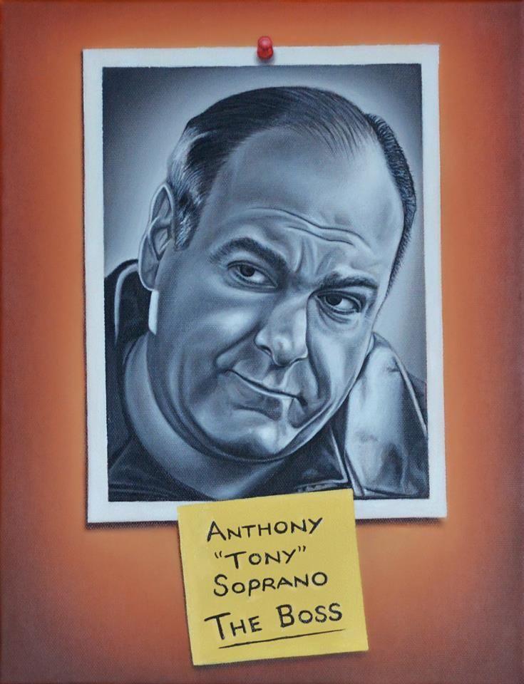 Tony Soprano by vkupila