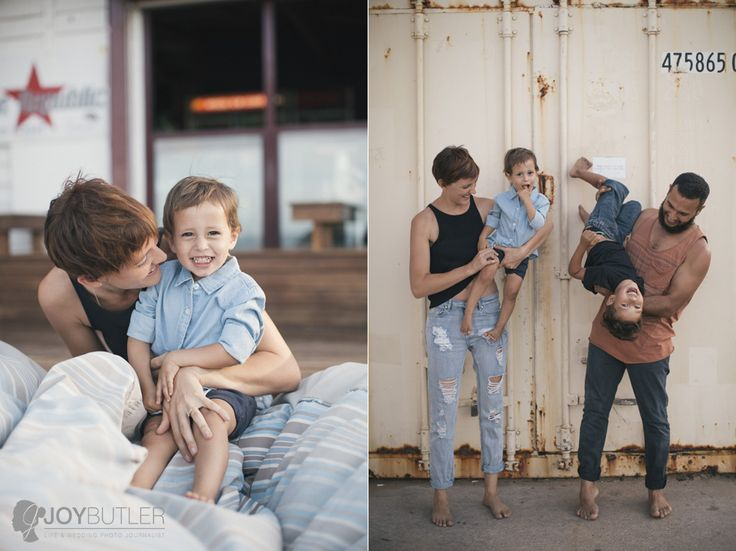 Lifestyle family shoot at the beach shack.