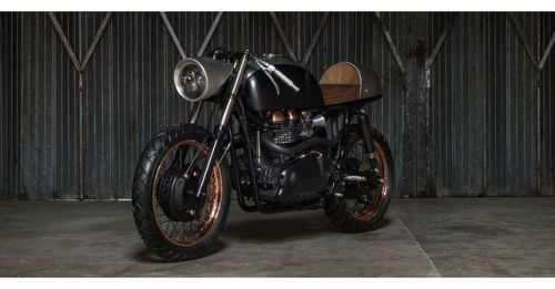 2007 Triumph Thruxton 900 Cafe Racer by Death Machine of London Customs (@dmolcustoms) #motorcycles #caferacer #motos | caferacerpasion.com