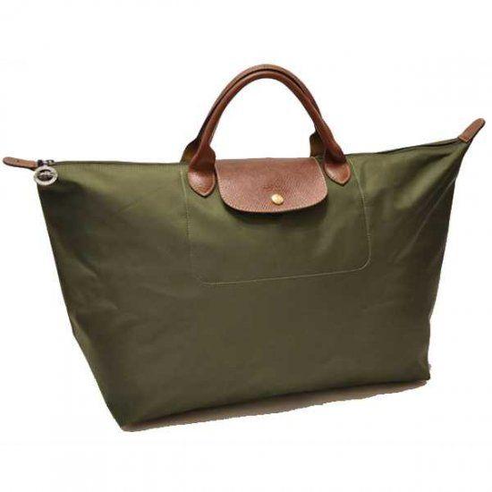 Longchamp glandulifera sac de voyage reine Army Green