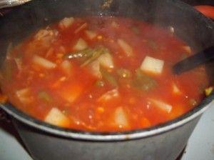 Nana's Vegetable Soup: http://smslwithheidi.com/2012/10/nanas-vegetable-soup-recipe.html#