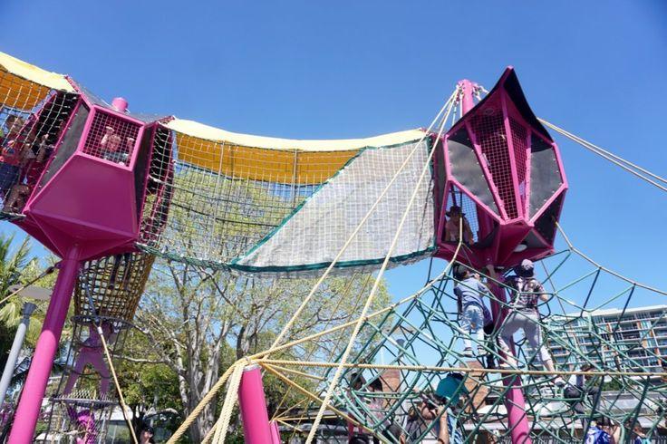 HOT: Riverside Green playground, South Bank, Brisbane http://tothotornot.com/2017/06/riverside-green/
