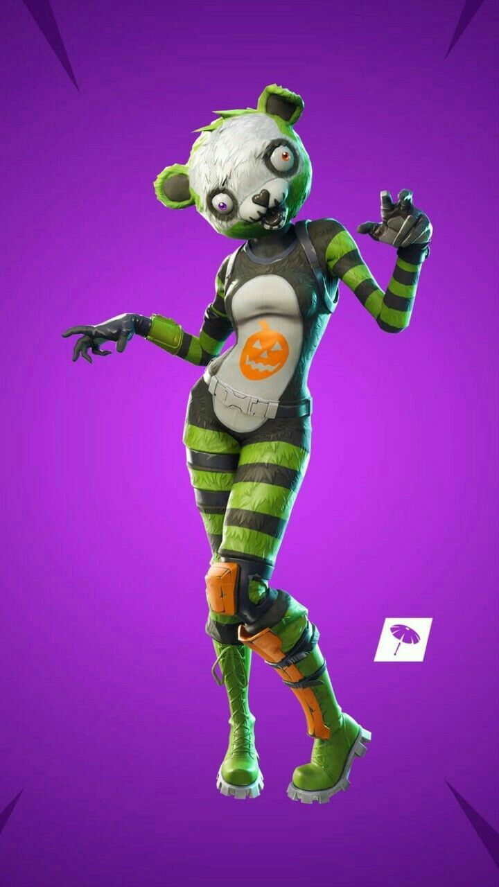 Spooky Team Leader Skin Epic Team Wallpaper Epic Games Game Character