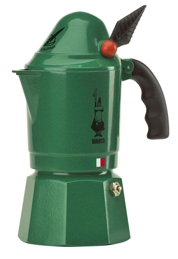 Espresso Coffee Maker Italy For Bialetti Machine Mokona Nera Details About Moka Alpina 3 Cups Green Mocha Alpine Made