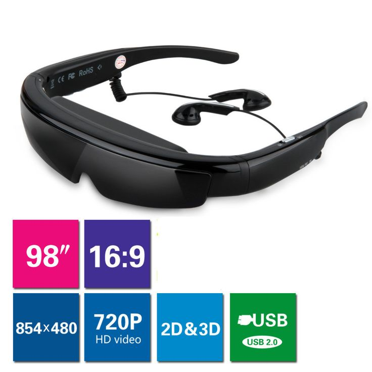 "excelvan 98"" 3D 비디오 안경 HDMI VGA 가상 와이드 스크린 HD 디지털 휴대용 비디오 안경 개인 시어터 PC ps2/ 3 X 박스-에서  Excelvan 98 ""3d 비디오 안경 hdmi vga 가상 와이드 스크린 Hd 디지털 휴대용 비디오 안경 개인 시어터 pc ps2/3 X 박스 이 사이부터 비디오 안경 의 Aliexpress.com | Alibaba 그룹"