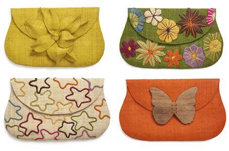 fabric clutch purse