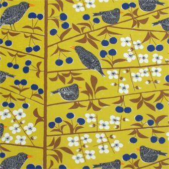 MARIANNE WESTMAN, Cherry Orchard Yellow Fabric