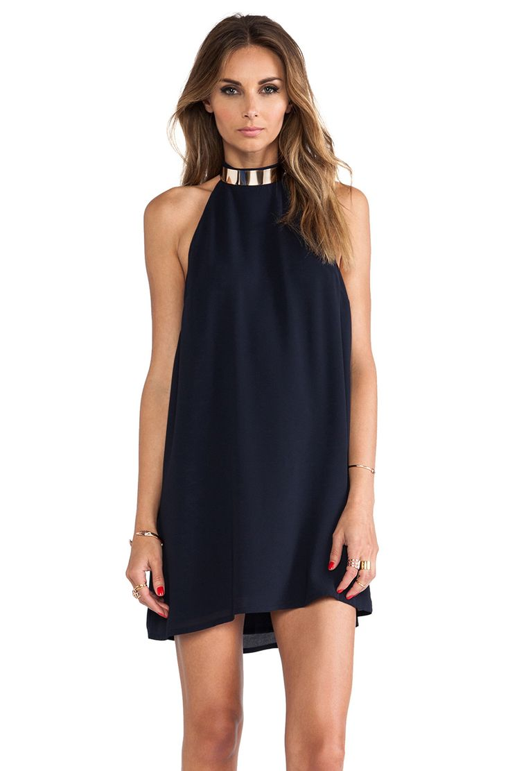 keepsake Reckless Mini Dress in Ink Blue | REVOLVE