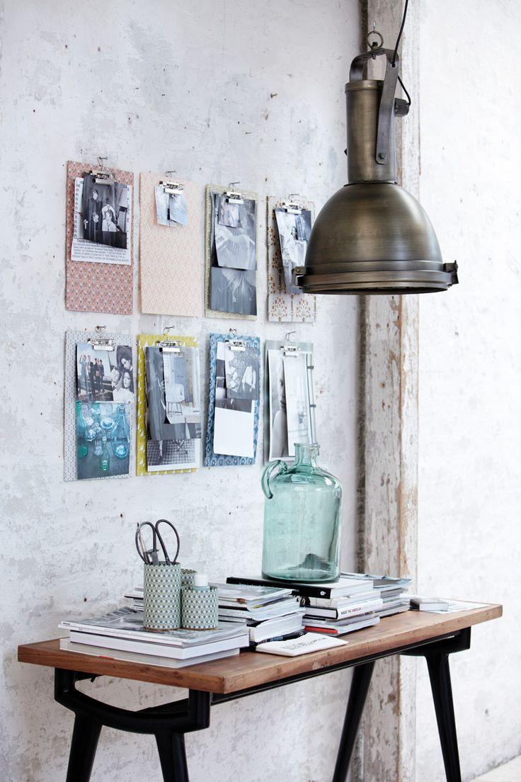 Lampi metalice, birou, House Doctor - Revista Casa Lux