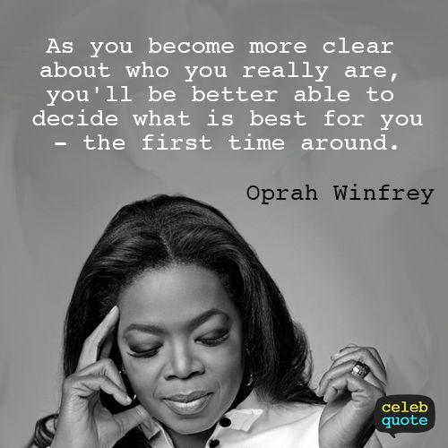 Oprah Winfrey Quotes ::::  Celebrate Women's History Month   http://womenshistorymonth.gov/