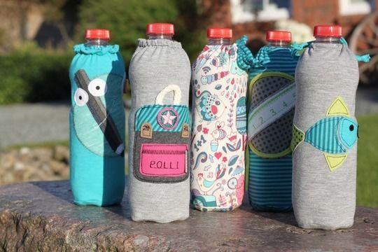 Ebook • Flaschenkleid • für 0,5 L PET Flaschen - Nähanleitungen bei Makerist