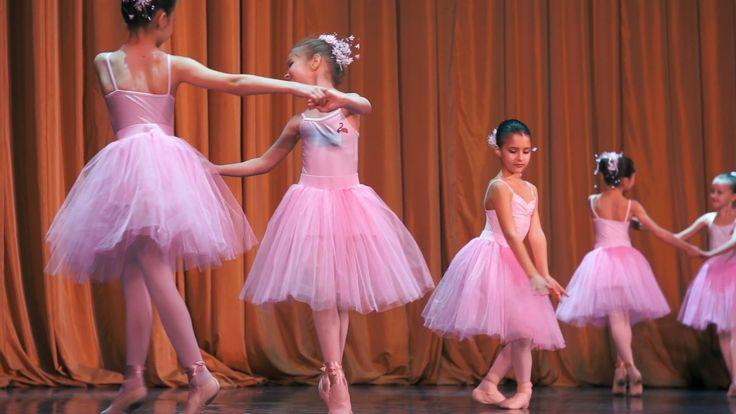 Дети в балете. Концерт в ДШБ Ильи Кузнецова. Январь 2016. Часть 2. На сцене
