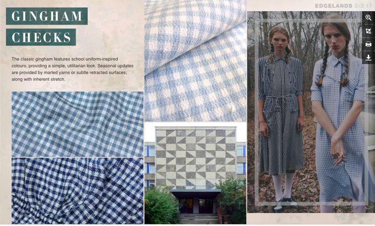 Print and Pattern - Gingham Checks
