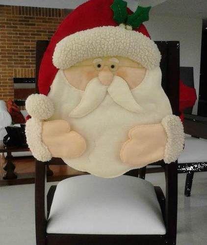 Moldes para forros de sillas navideños - Imagui