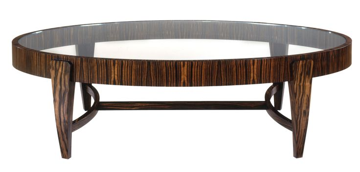 Buy Tusk Oval Coffee Table by Lipton Furniture - Sample designer Furniture from Dering Hall's collection of Contemporary Mid-Century / Modern Transitional Coffee & Cocktail Tables.