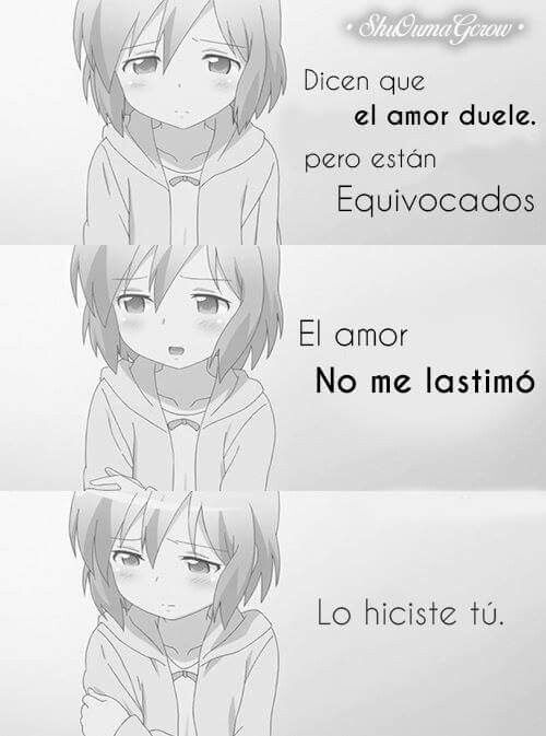 Pin By Filette Cueros On Frases Pinterest Anime Frases And Sadness