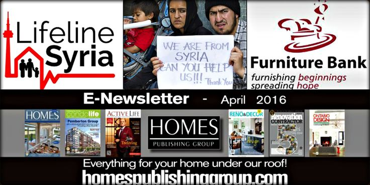 Condolife Digital Book - eNewsletter Articles: Lifeline Syria, Furniture Bank needs volunteers #Condominium #LuxuryCondos http://condolifemag.com/2016/04/14/lifeline-syria-furniture-bank-needs-volunteers/