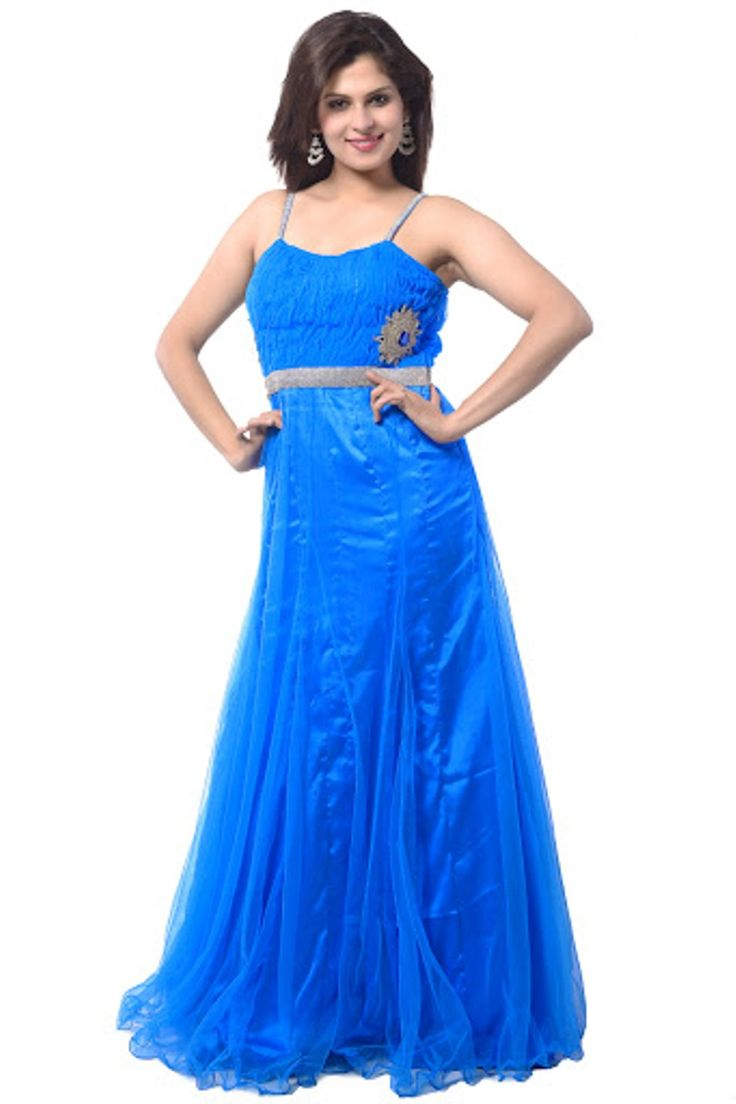 Buy Ready Made Designer Party Wear Long Gown Set Online