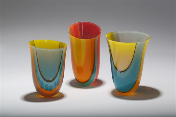 summer vvases, Gleision Collection - Ruth Shelley