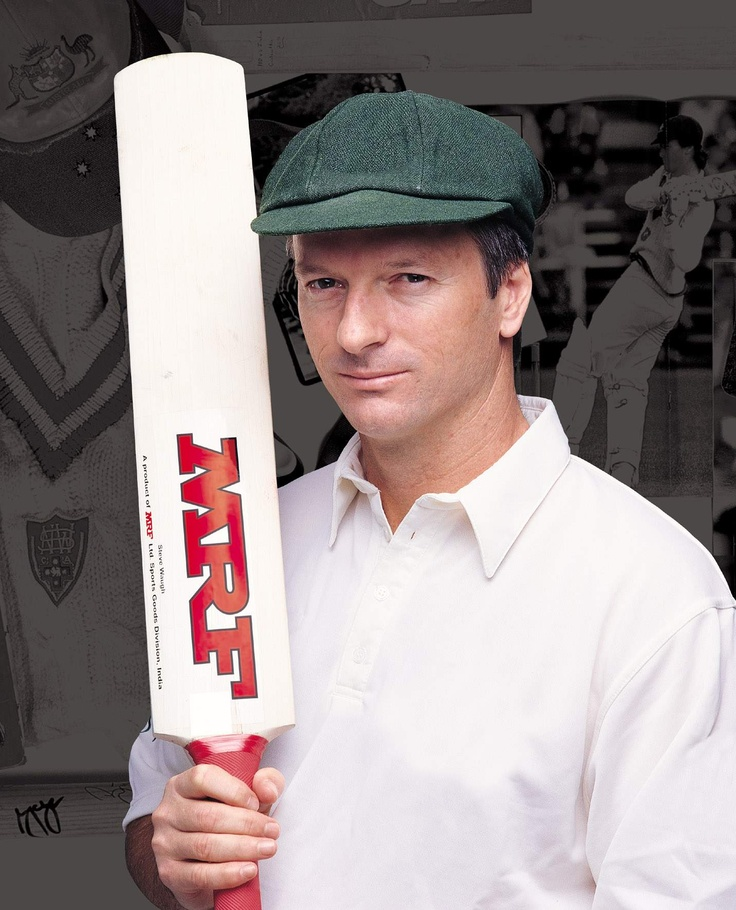 "A right-handed Australian batsman- steve waugh ""a moderately talented player"""