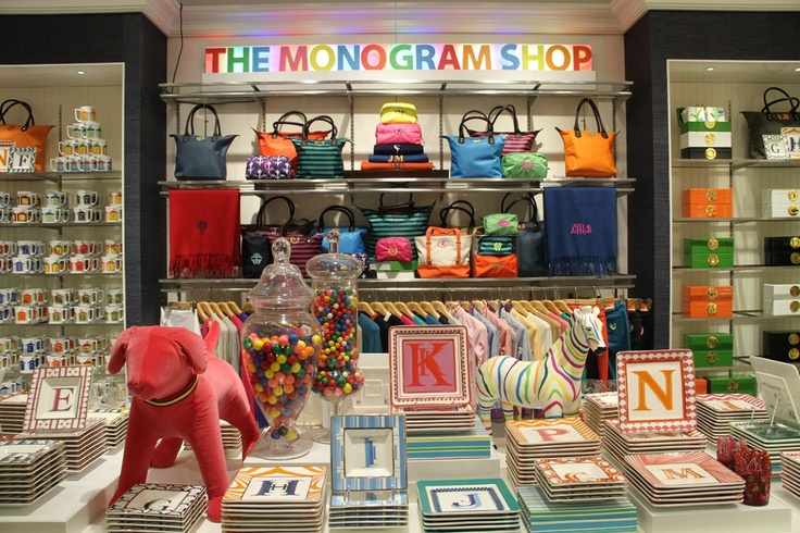 c.wonder store design- the monogram shop