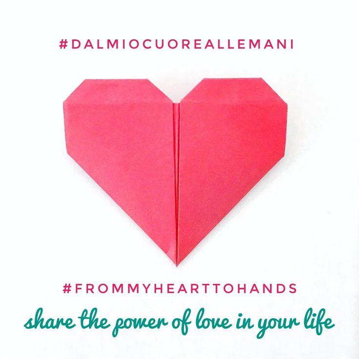 Sul mio profilo instagram https://www.instagram.com/weddingdreamhandmade/ io e altre amiche creative abbiamo lanciato un'iniziativa che vuole valorizzare e sostenere l'handmade rivolta a tutte le persone che creano con le proprie mani, per farsi conoscere e ricevere sostegno! Segui l'evento su Intagram e condividi quello che vuoi scrivendo #dalmiocuoreallemani.