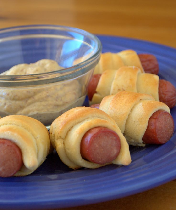 Pigs in a Blanket - This recipe is gluten, corn, nut and soy free (it can also be made dairy free).