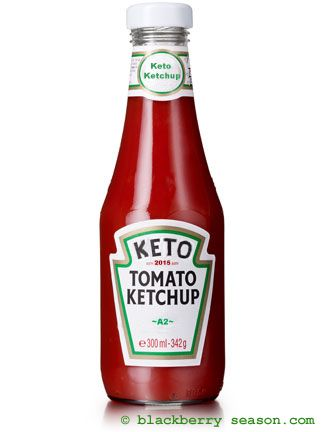 Keto Ketchup—I keep fiddling around with this recipe, but this is a fairly close approximation to common sugary brands.