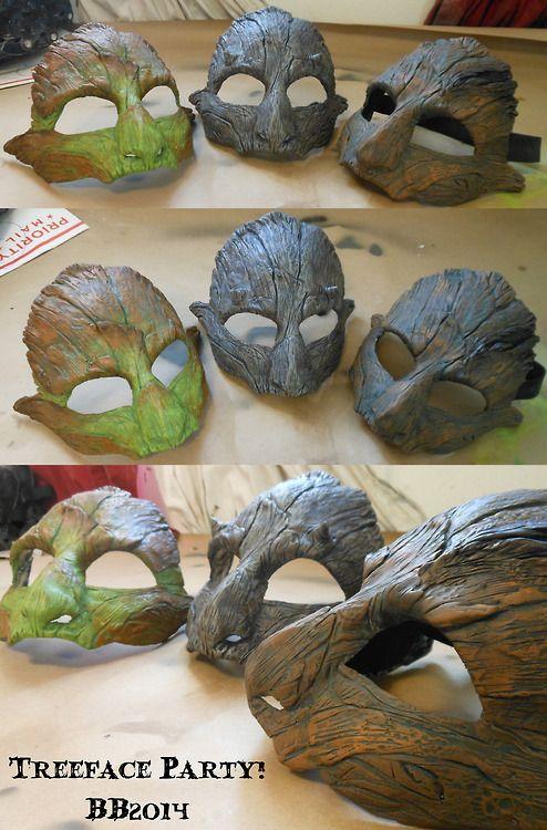 Tree-face mask