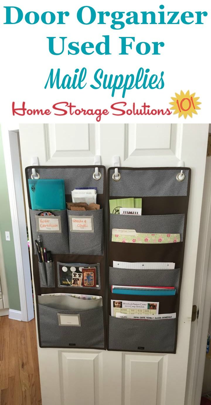 Mail Organization Hall Of Fame How To Deal With Daily Mail Home Mail Organization Home Storage Solutions Office