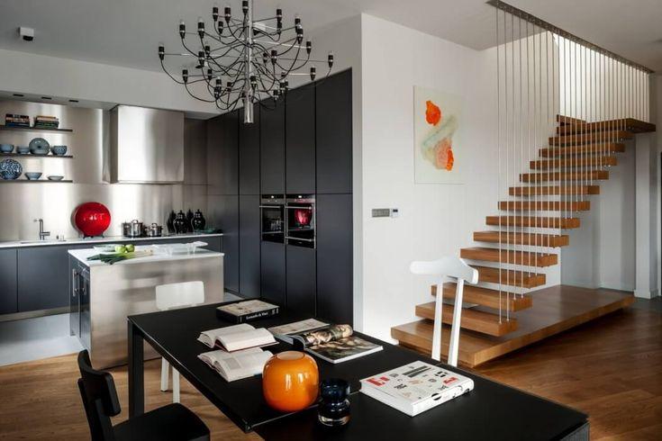 Двухуровневая квартира в Варшаве | Pro Design|Дизайн интерьеров, красивые дома и квартиры, фотографии интерьеров, дизайнеры, архитекторы