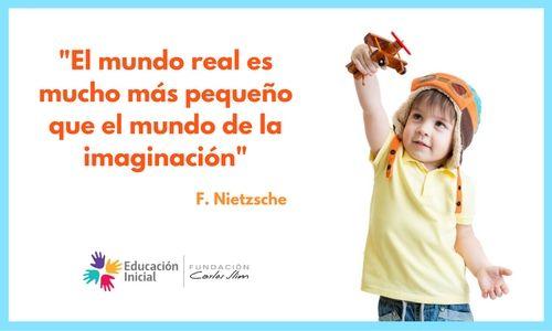 """#Frases """"El mundo real es mucho más pequeño que el mundo de la imaginación"""" #Nietzsche"""