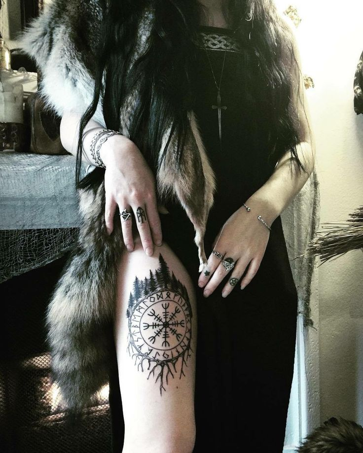 Scandinavian tattoo